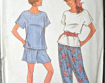 Simplicity It's So Easy 7810, Misses Top, Pants, Shorts, Sizes 6 through 18, Vintage 1992