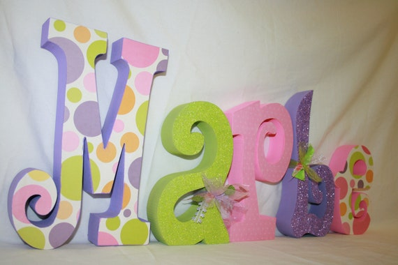 How To Decorate Wooden Letters For Nursery: Unavailable Listing On Etsy