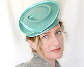 Women Elegant Hat  Vintage 40's .