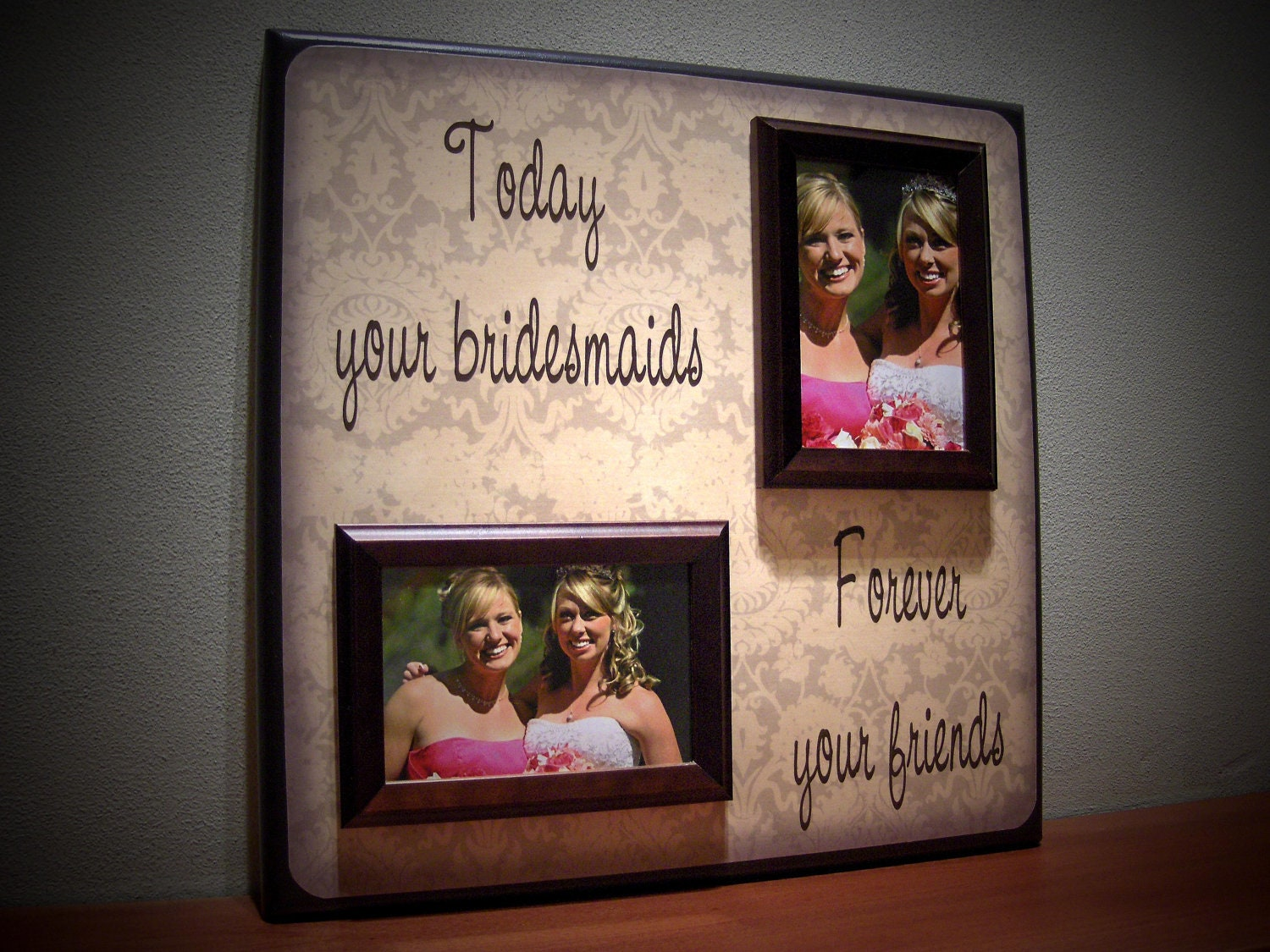 Wedding Gift For Bride From Best Friend : Wedding Gifts For Bride From Best Friend Custom Best Friends Wedding