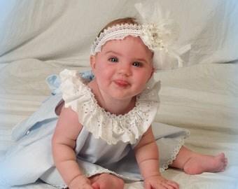 Infant Girl's Smash Cake Birthday dress set with bloomers