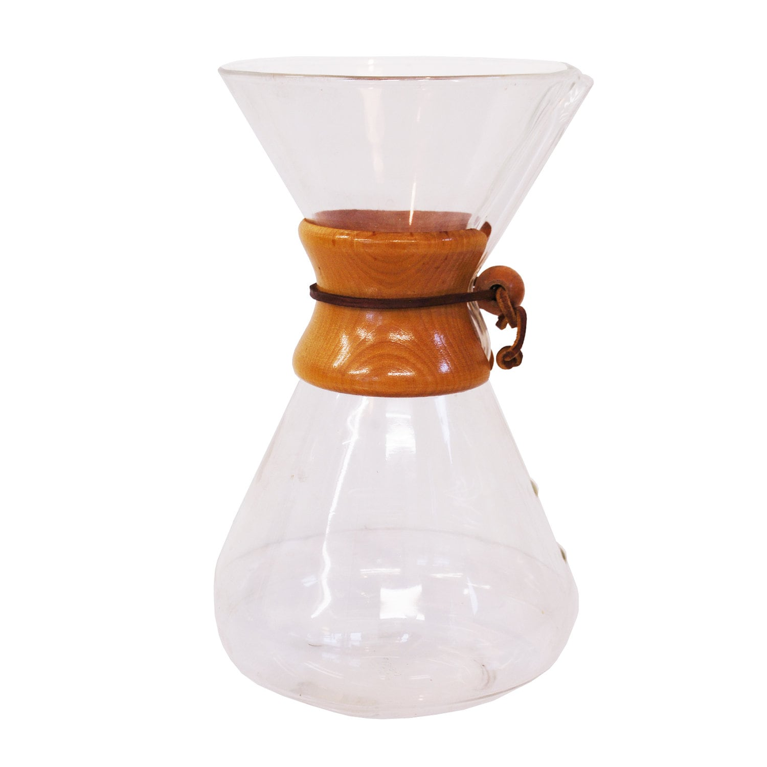 Chemex Carafe / Large Glass Coffee Maker / by midmoderngoods