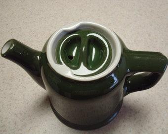 Hall Olive Green Tea Pot