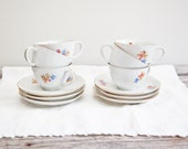 Vintage Blume Tea Cups & Saucers