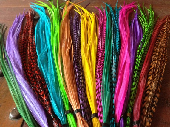 Wholesale Real Feather Hair Extensions Uk 59
