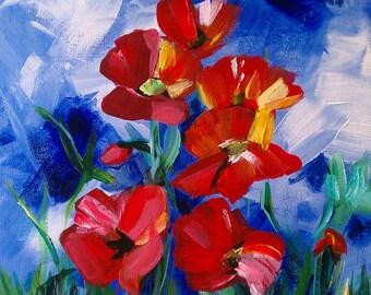 PRINT - Poppies