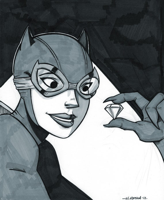 Catwoman - Daily Drawing