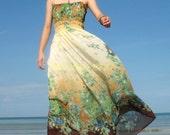 Yellow Chiffon Gifts Plus Size Dress Maxi Dress Prom Long Dress Bridesmaid Dress 1X 2X 3X 4X