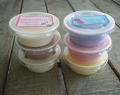 RTS Sale You Pick 6- Soy Wax Melts/Tarts Cups- by Sugar Pie Scents