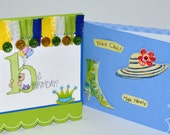 Card Set of 2  -  One Birthday Card - One Just Because Card - Handmade - Card Set