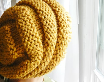 RESERVED LISTING _ Slouchy Beanie / Beehive Knit Hat - CHOOSE Your Color - Secret Life of Bees - Lit Knits