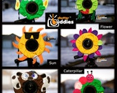 SPECIAL Shutter Buddies 4 FOR 3 With Squeakers Camera Lens Accessories