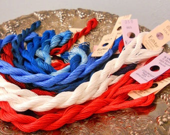 Liberty Pie Thread Pack of 10 skeins of Edmar Thread.