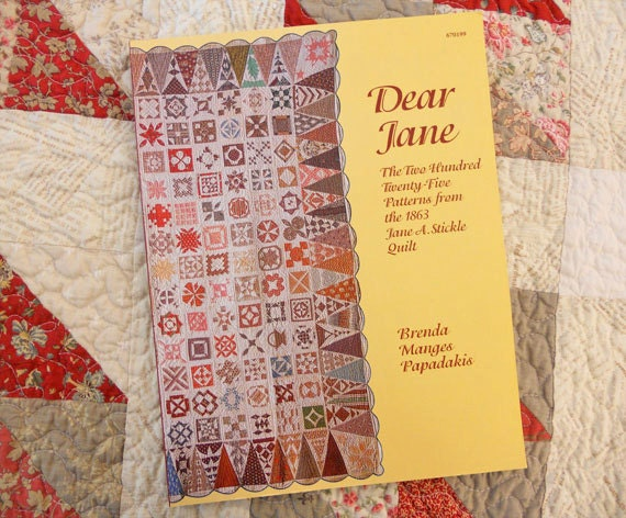 Dear Jane Book And Rulers By Brenda Manges Papadakis