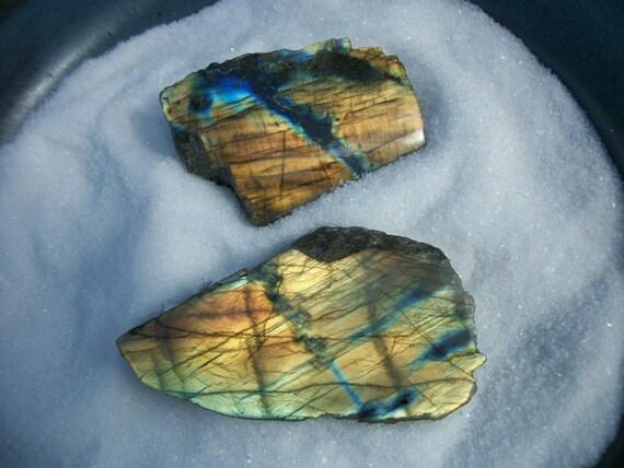 Labradorite Stone 100% Adventurous Magic Flash