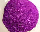 Light Purple SOLVENT RESISTANT Glitter 0.015 Hex - 1 Fl. Ounce for Glitter Nail Art, Glitter Nail Polish and Glitter Crafts