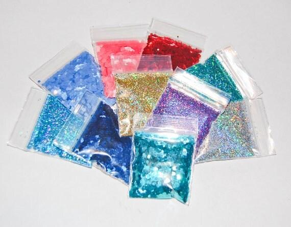 Solvent Resistant Glitter Sampler Set