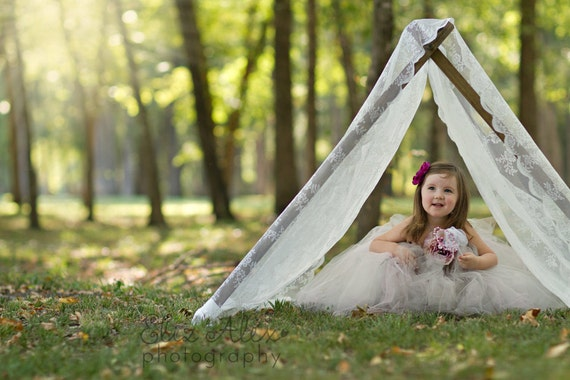 Items Similar To Tent Frame Photography Prop Wood Frame