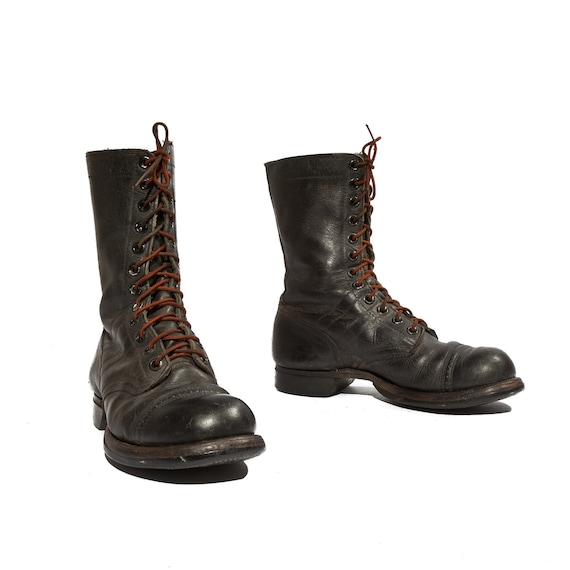 1950 S Paratrooper Jump Boots By The Herman Shoes Amp Boots