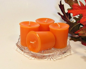 Votive candles Tangerine scent 4 pack