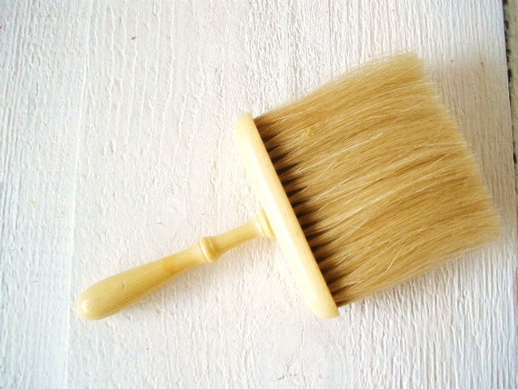 vintage clothes brush table broom ivory bakelite deco