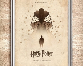Harry Potter and the Deathly Hallows 24x36 Movie Poster