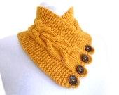 unisex, yellow mustard neckwarmers, autumn, wool, hand-knitted,fashion,gift, valentines day,men, women
