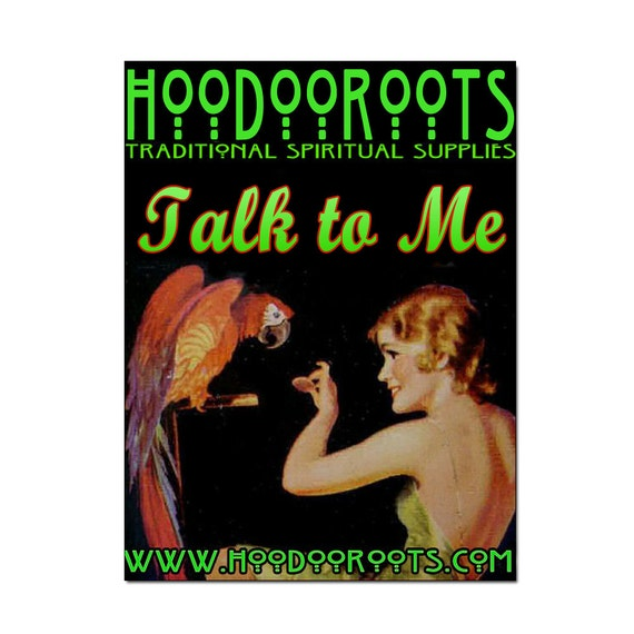 Talk To Me Spiritual Bath - Encourages Communication - Organic & Luxurious - A Magical Hoodoo Roots Preparation