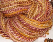 Hand Spun Hand Dyed Superwash Merino Wool Dr. Who Inspired Yarn