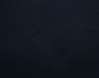 Black, solid color, fat quarter, pure cotton fabric