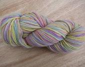 Handpainted Pastel Rainbow Wool & Alpaca Yarn