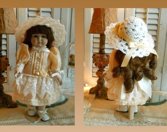 Vintage Goebel Musical Porcelain Limited Edition Doll Original Box And Papers Carol Anne Dolls By Bette Ball No. 179/1000 Collectible Doll