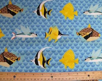 Pacific Reef Fabric YARD