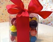 Clear Truffle Favor Party Gift Candy Boxes  1 Dozen