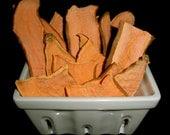 Organic Sweet Potato dog treats 8oz bag