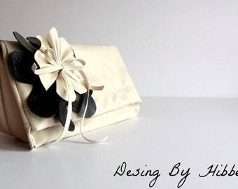 Bridesmaids clutches.Wedding bridal clutch,Bridal Clutch,Bridesmaids gift, Cosmetic pouch, Evening makeup bag, Purse organizer