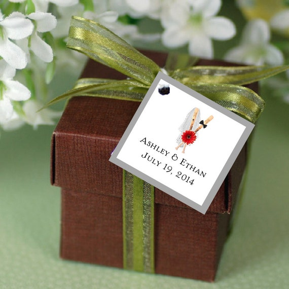 Baseball Wedding Gifts: 100 Baseball Favor Tags. Wedding Favors