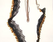 SALE- Lace and Chain Necklace
