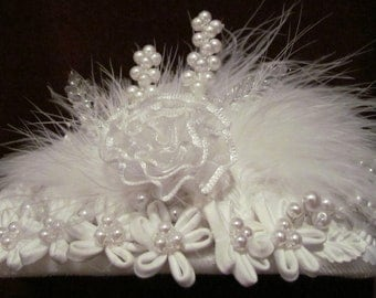 Bridal hair accessories Wedding White