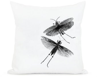 Grasshoppers, insects  -   instant Digital Image Download Sheet, Transfer To Pillows ,Burlap Bag, towels,  or Print on paper 007