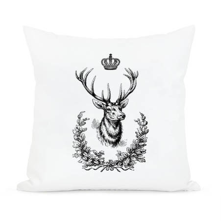 Deer King Crown Home Decor Instant Digital Image