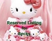 Reserved Listing for Becky