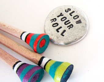 Funny Golf Gift ball marker golf tees - gift for dad