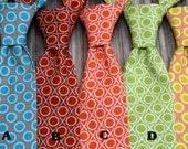 Boys Matching Ties -- Boys Turquoise Tie -- Photography Prop -- Newborn Baby Tie