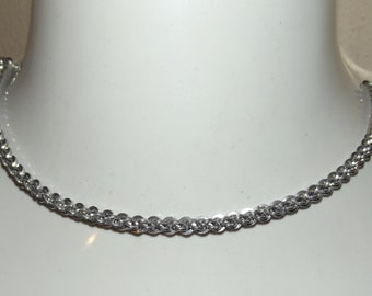 Square JPL Chainmaille Necklace
