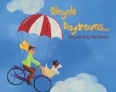 """Children's Book: """"Bicycle Daydreams ..."""" by Gina Edwards"""