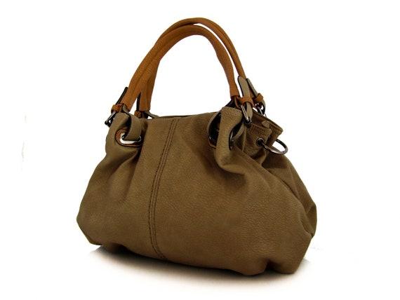 vegan leather handbag purse soil -.-  the Nola -.- new collection