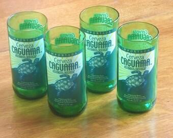 Cerveza Caguama Juice glasses (4)
