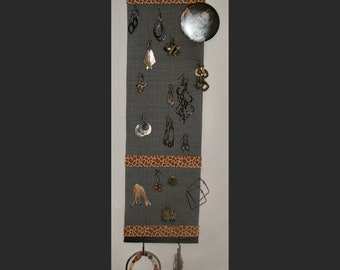 Giraffe  Earring  and Jewelry Organizer (Necklace Holder and Jewelry Storage)