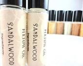 Sandalwood Perfume Oil - Roll On Perfume - 8mL